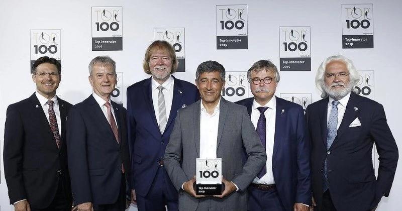 德國新帕泰克榮獲年度TOP100創新獎